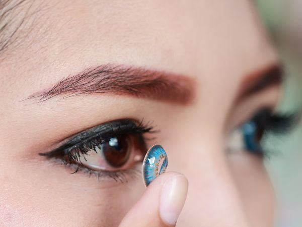 Lentilles de couleur pour les yeux - Achat / vente en ligne