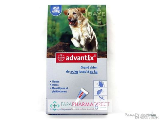 High-Tech / Autres Advantix Grand Chien 25 à 40kg 6 pipettes