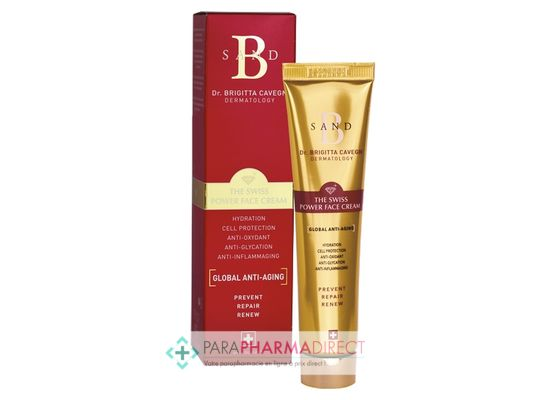 Corps / Beauté B Sand The Swiss Power Face Cream Anti-Âge Global 40ml : Anti-Age pour Visage