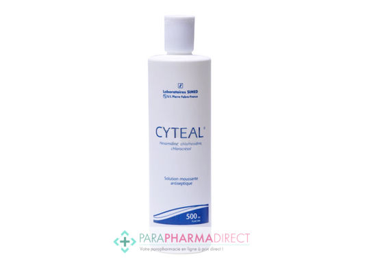 Médicaments CYTEAL Solution Moussante 250ml