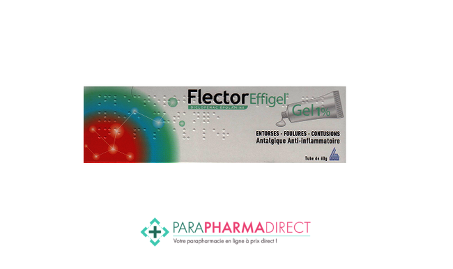 Médicaments FLECTOREFFIGEL 1%, gel, tube de 60g