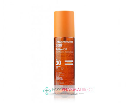 Corps / Beauté Isdin Fotoprotector Active Oil SPF30 200ml : Protection pour Solaires