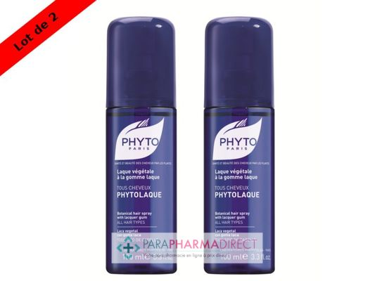 Corps / Beauté Phyto PhytoLaque Spray Tous Cheveux 2x100ml