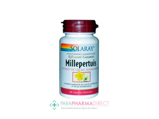 Nutrition / Sport Solaray Millepertuis  60 Capsules