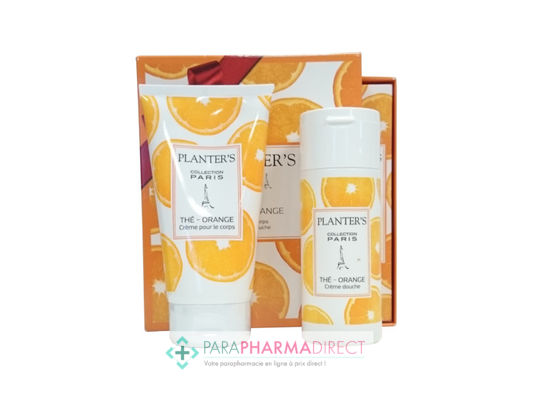 Corps / Beauté Planter's Coffret Collection Paris Thé - Orange Duo