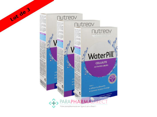Nutrition / Sport Nutreov Physcience WaterPill Cellulite Destockeur Intensif 3x20 Comprimés