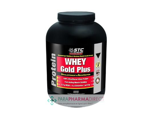 STC Nutrition Protein Whey Gold Goût Chocolat 2,2kg
