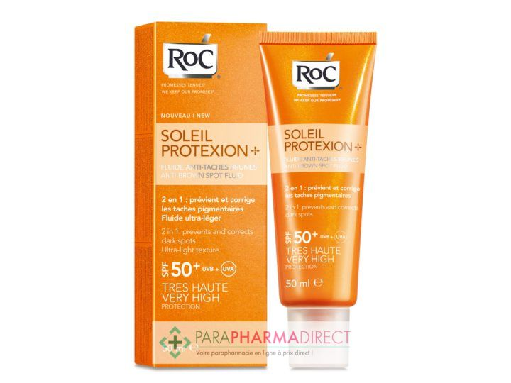 roc soleil protexion soin visage anti t ches brunes spf50 50ml paraphamardirect. Black Bedroom Furniture Sets. Home Design Ideas