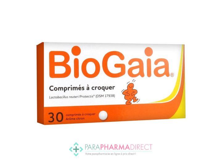 BioGaia Probiotiques (Diarrhée-Digestion) 30 Comprimés - Paraphamadirect