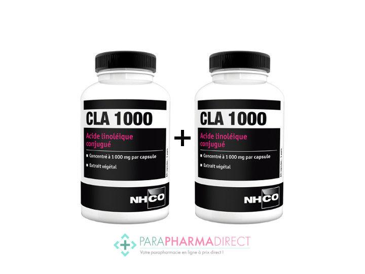 Nhco Nutrition Cla 1000 Acide Linoleique Conjugue 2x60 Capsules Paraphamadirect